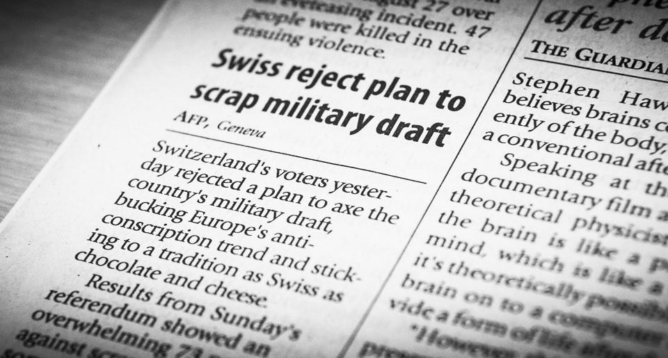 Schweizer Armee ist weltberühmt