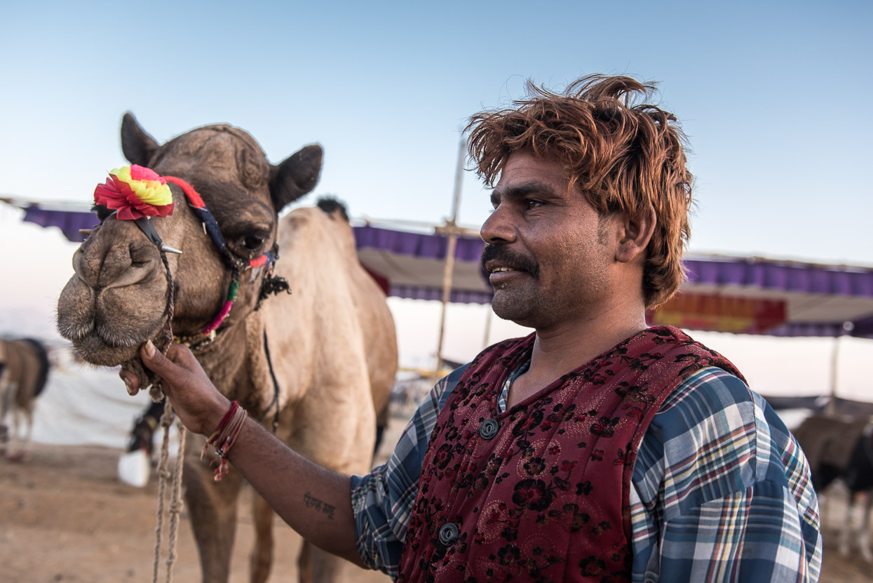 Deepak pushkar camel fair